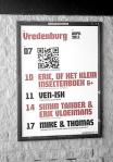 QR code op poster