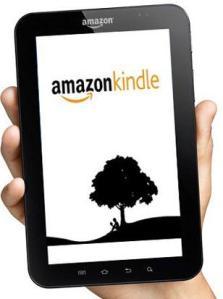 Kindle app op Galaxy Tab